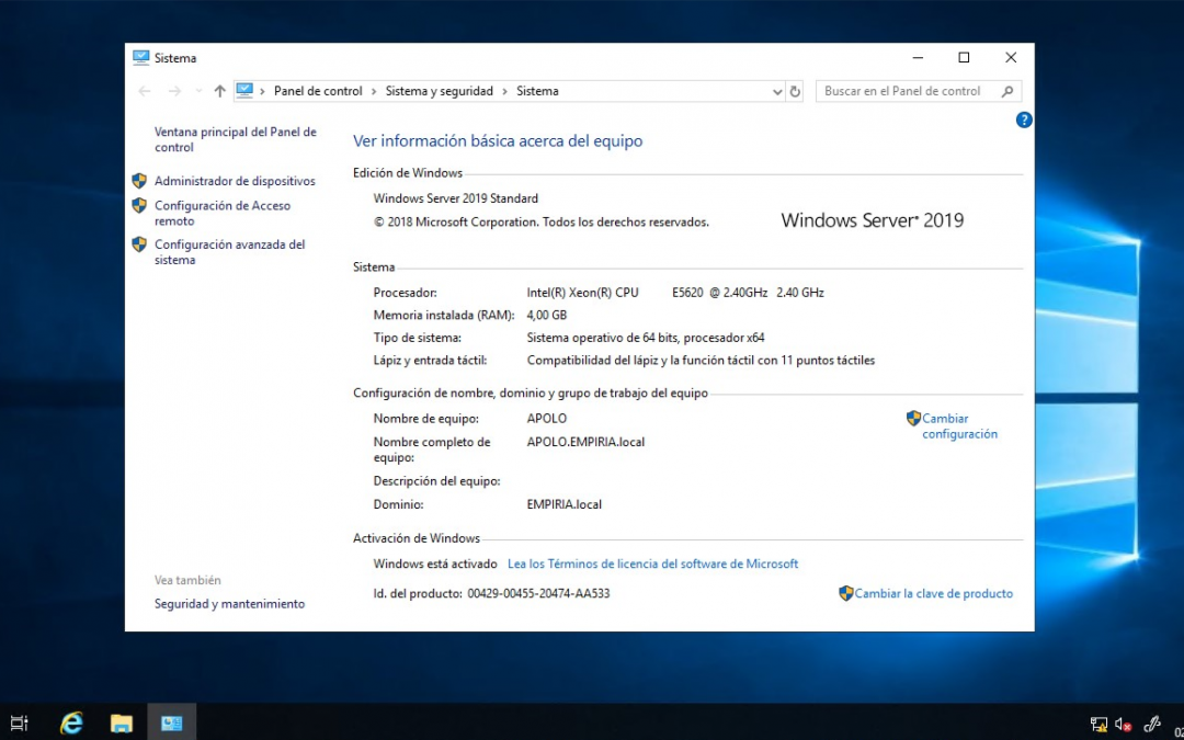Windows Server 2019 ya está aquí